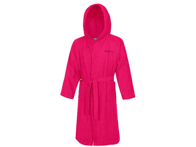 speedo Microterry Bathrobe Rasperry Fill